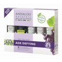 Age Defying Cosmetics Gift Set (with Resveratrol, Coenzyme Q10 and Organic Fruit Stem Cells)