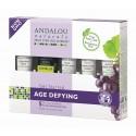 Set cadou cosmetice anti-age cu extracte organice, resveratrol, coenzima Q10 si celule stem din fructe