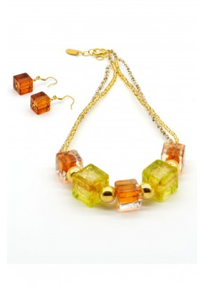 Murano Set Fruit Cube - 2 piece