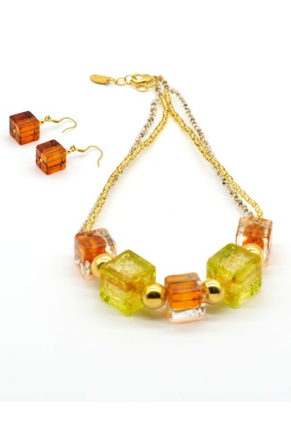 Murano Set Fruit Cube