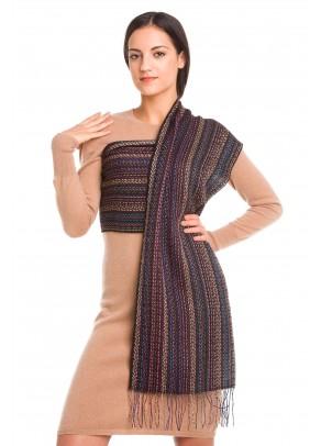 Waylla - baby alpaca and silk scarf