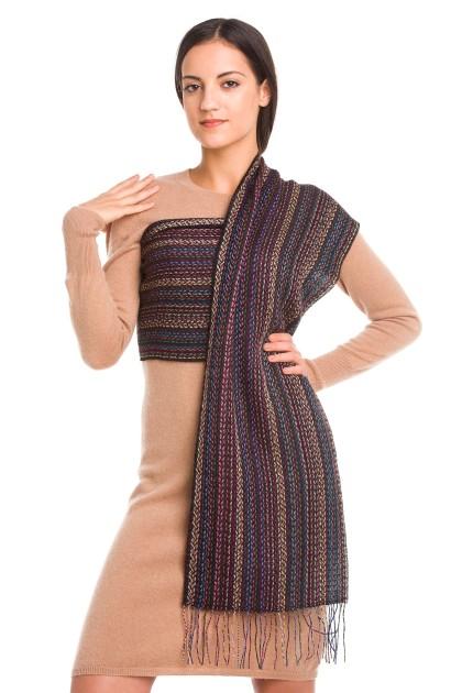 """""""Waylla"""" baby alpaca and silk scarf"""