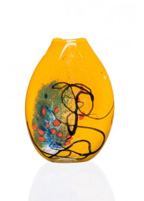 """Abstract Summer"" Vase"