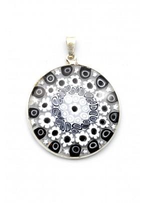 Pandantiv Murrine Grande (argint, 3,2 cm)