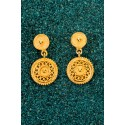 Gold-plated Silver Filigree Little Fantasy Earrings