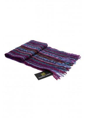 Purple Orchid - baby alpaca fine scarf