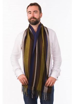 Pacha azul - baby alpaca and silk scarf