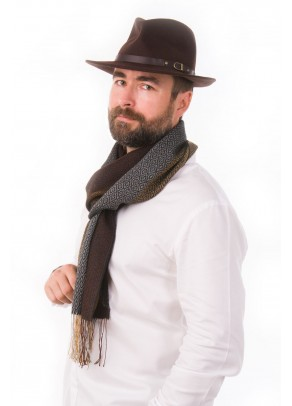 Pacha tierra - baby alpaca and silk scarf