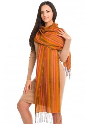 Thai marble - baby alpaca and silk scarf