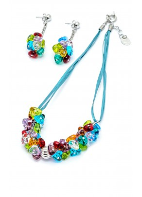 Set Murano Amelie - 2 piese