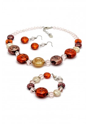 Murano Set Carola - 3 piece