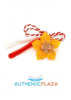 Martisor Murano Daffodil