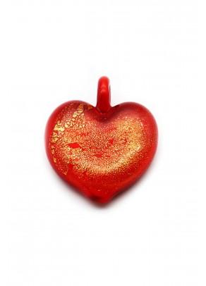 Pendant Passione - Fiery Lava Heart