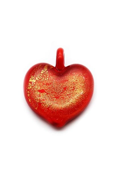 Passione Pandantiv - Fiery Lava Heart