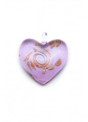 Pendant Passione - Glitter on Lilac