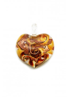 Pendant Passione - Heart in Flames