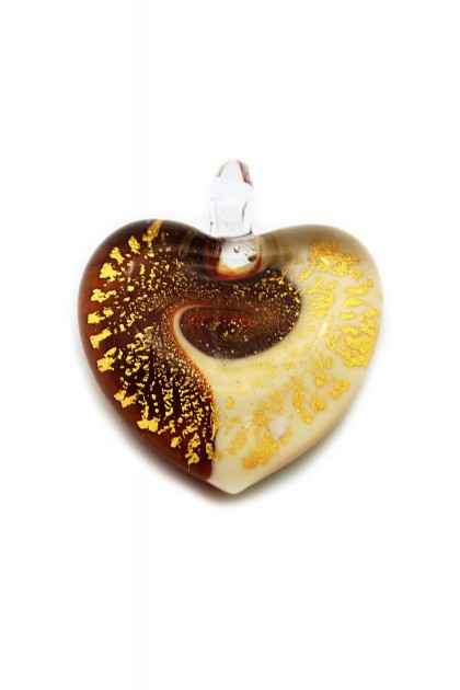 Passione Pandantiv - Red'n'Cream Embrace