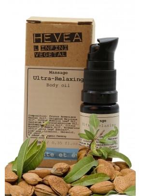 Ulei de masaj relaxant aromaterapeutic bio cu uleiuri pretioase de neroli, maghiran, santal - 10 ml
