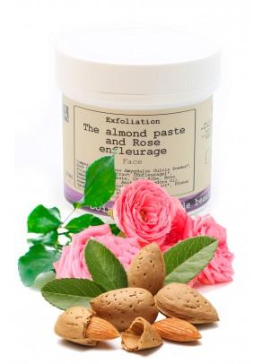 Gomaj de fata bio cu pudra de migdale si trandafiri - 200 ml