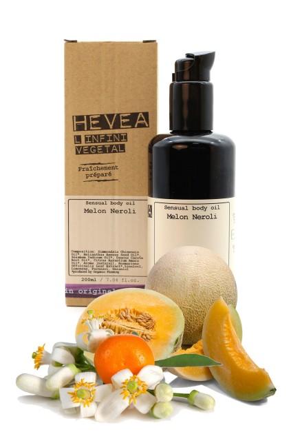Ulei de corp senzual bio cu ulei pretios de Neroli si extract din flori de pepene galben - 200 ml