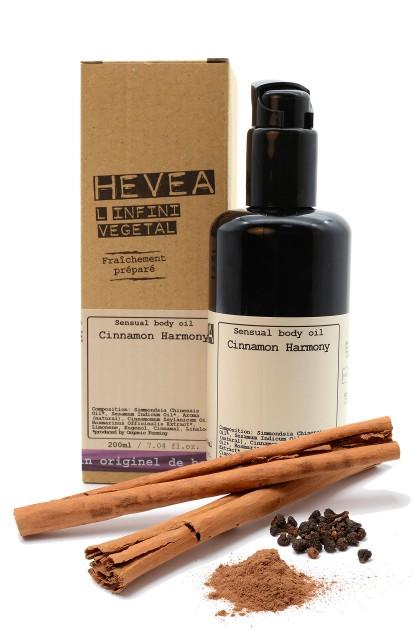 Organic sensual body oil Cinnamon Harmony - 200 ml