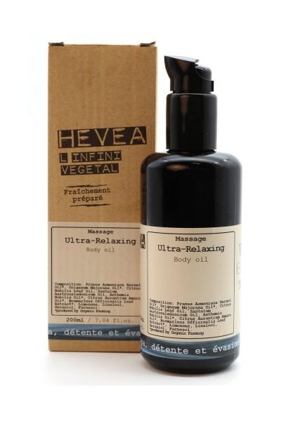 Relaxing aromatherapy organic massage oil with precious neroli and sandalwood - 200 ml