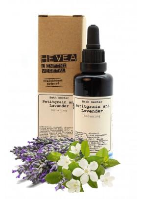 Nectar de baie bio SPA de lux cu uleiuri pretioase de petitgrain si lavanda