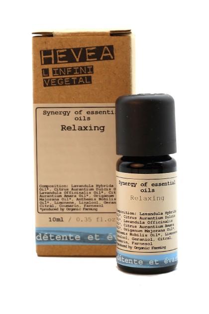 Relaxing organic massage oil with orange, neroli and majoran