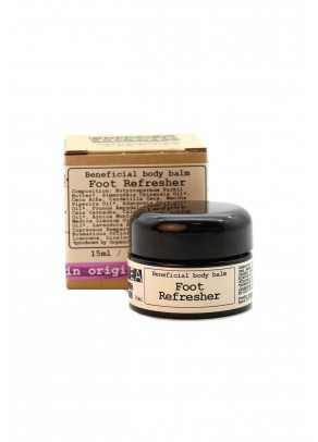 Refreshing foot balm with organic cypress, shea butter and arnica - 15 ml