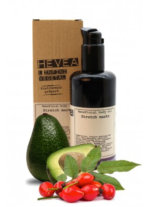 Organic stretch marks oil with frankincence and avocado