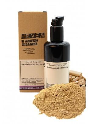 Organic sensual body oil Sandalwood Harmony - 200 ml