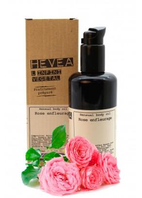 Ulei de corp senzual bio cu infuzie de trandafiri si ulei de argan - 200 ml