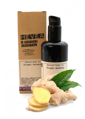 Organic sensual body oil Ginger Harmony - 200 ml