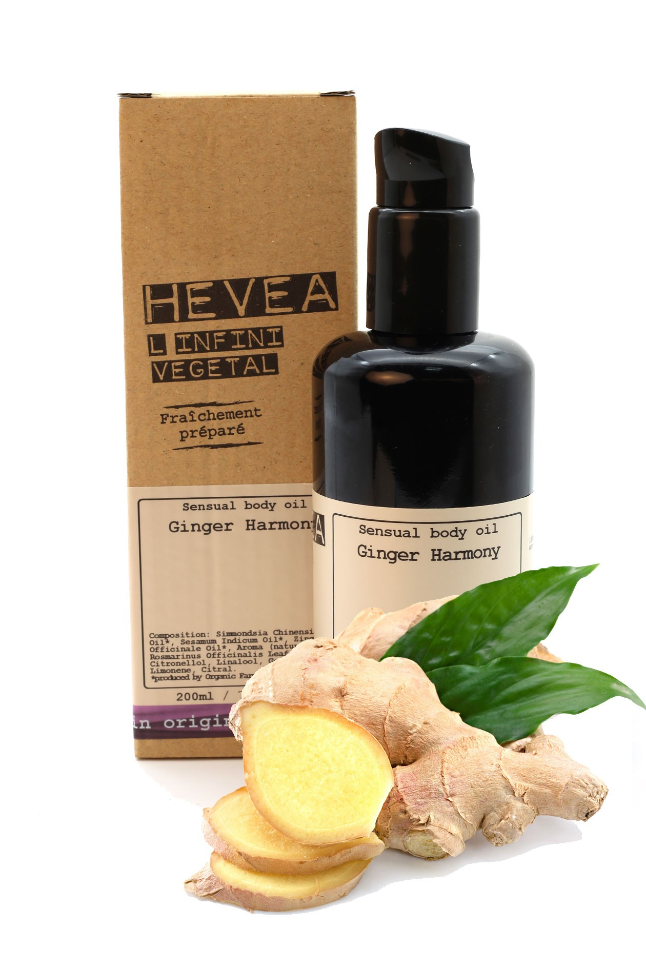 What product is ginger in harmony with? 31