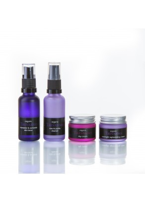 Organic Facial Care Travel Set for Normal Skin
