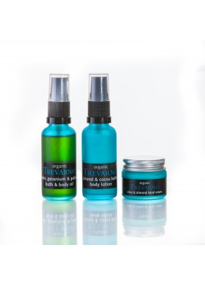 Organic Body Care Travel Set