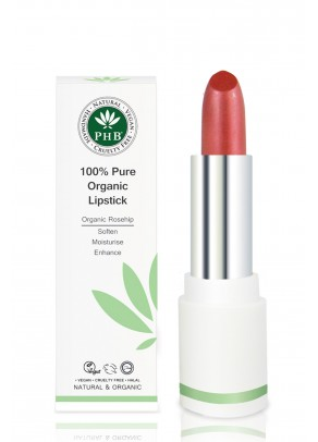 Organic lipstick with shea butter and rosehip oil (Cranberry)
