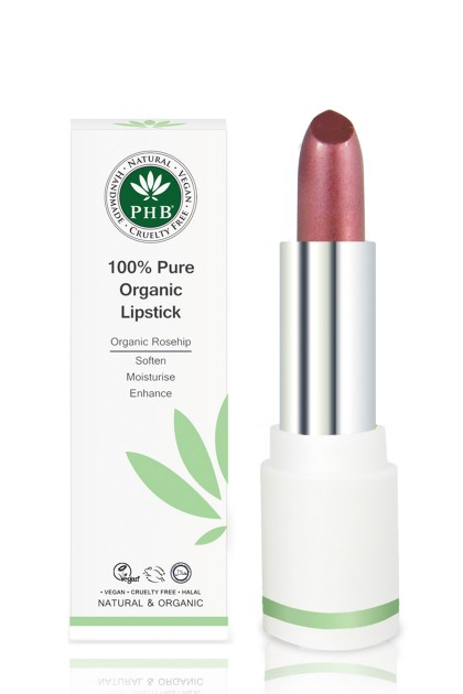 Organic lipstick with shea butter and rosehip oil (Cocoa)