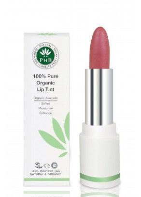 Organic lip tint with argan oil and shea butter (Raspberry)