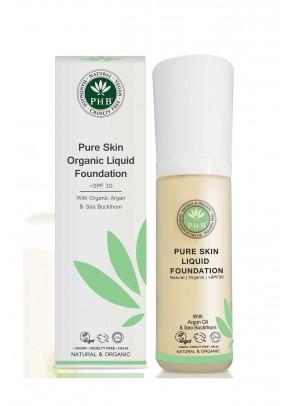 Organic Liquid Foundation with argan oil SPF 30 (Cream)