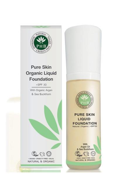 Organic Liquid Foundation with argan oil (Cream)