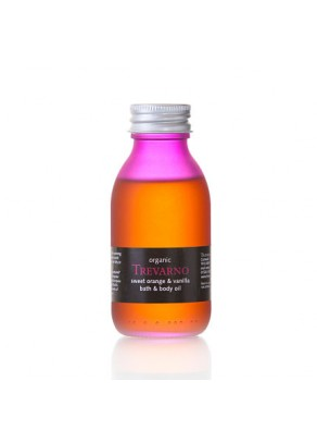 Sweet Orange & Vanilla Organic Bath & Body Oil - 30ml
