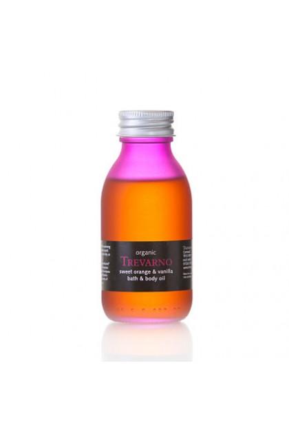 Sweet Orange & Vanilla Organic Bath & Body Oil