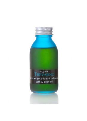 Lavender, Geranium & Palmerosa Organic Bath & Body Oil - 100ml