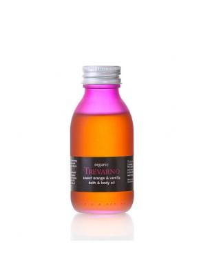 Ulei pentru corp si baie bio cu portocala dulce si vanilie -100ml