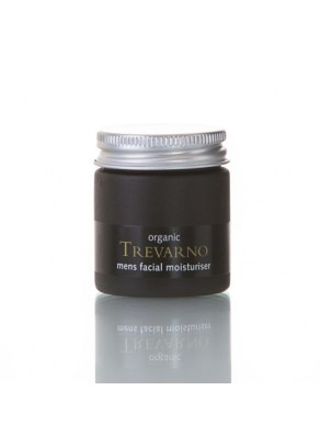 Men's Facial Organic Moisturiser with Rosewood and Lemongrass - 30ml