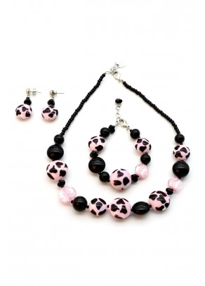 Murano Set Leopard - 3 piece