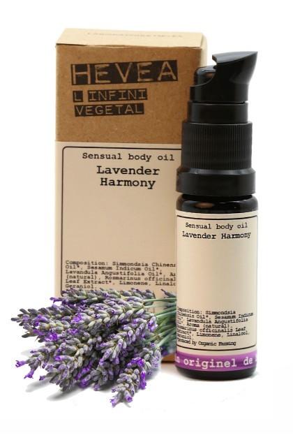 Organic sensual body oil Lavender Harmony - 200 ml