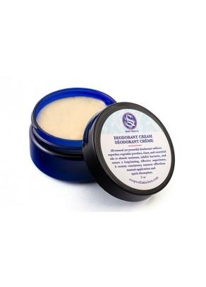 Organic deodorant cream with shea butter, tea tree and bergamot oils
