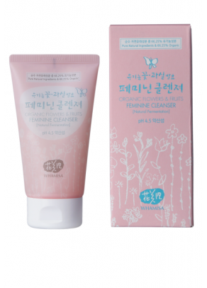 Organic Flowers & Fruits Feminine Cleanser with Kobushi Magnolia